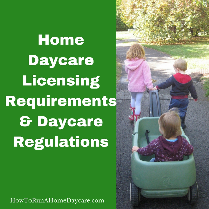 home daycare licensing requirements