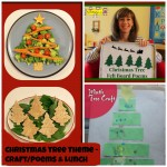 Christmas Tree Theme – A Craft, Felt Board Poems and Lunch!