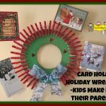 Christmas wreath clothespin