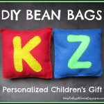 DIY Easy Handmade Bean Bags