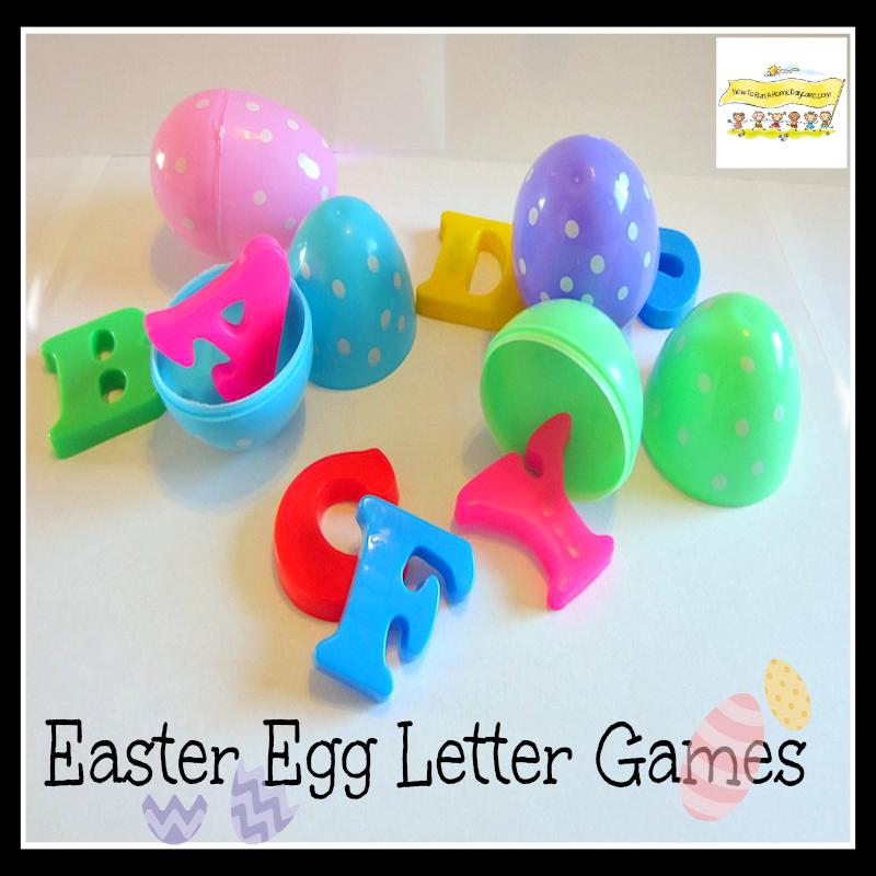Easter Egg Letter Games Reading