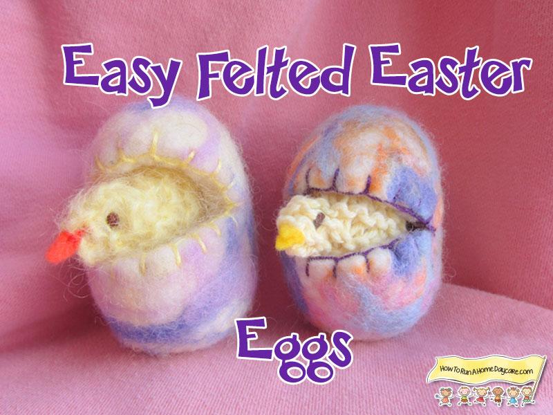 Easy-Felted-easter-eggs