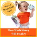 How Much Money Will I Make Running A Home Daycare-