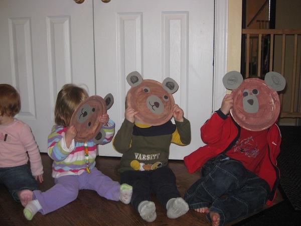 bear masks