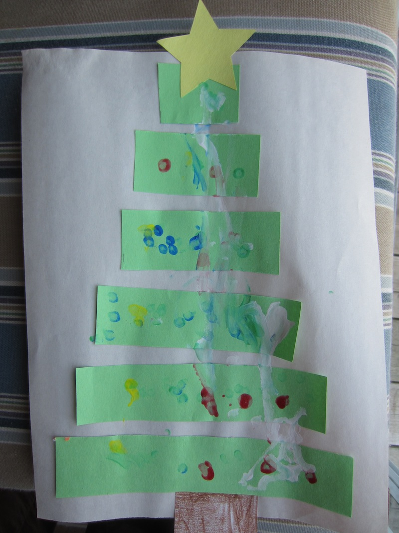 Christmas Tree Craft-Math Activity - How To Run A Home Daycare