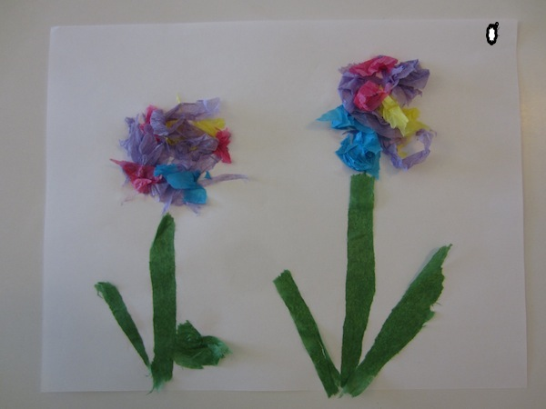 Tearing Tissue Paper A Therapeutic Craft For Children How To Run
