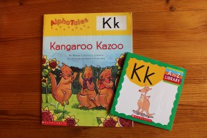 K Words For Kids of letter K and the kids