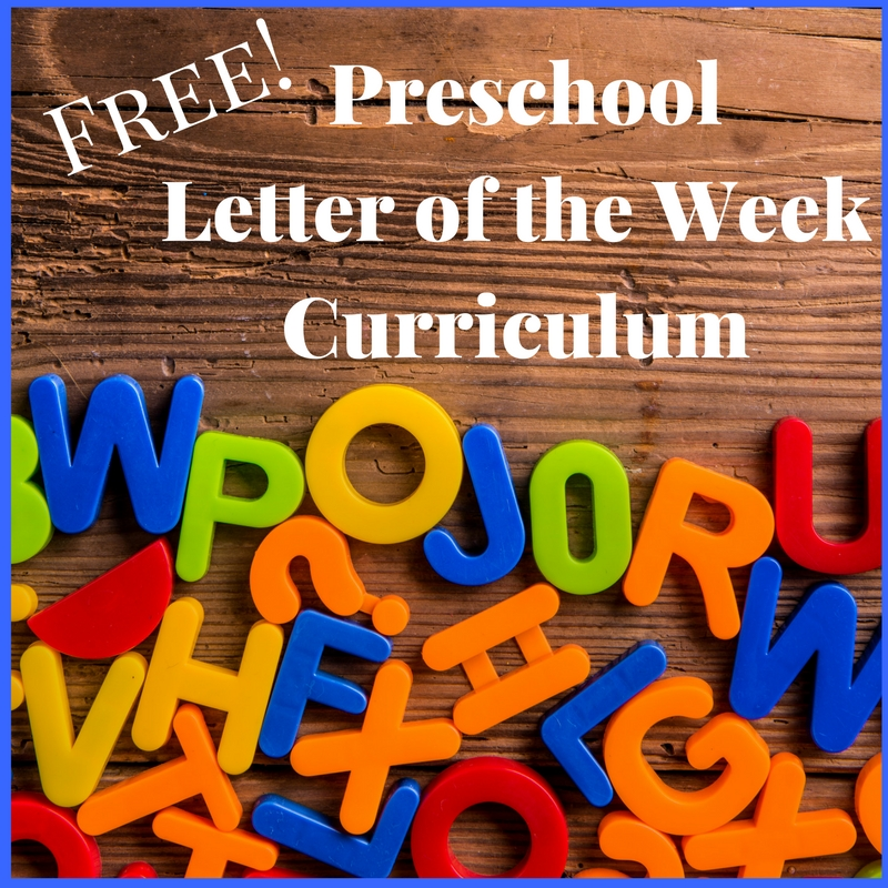 Letter of the Week Program