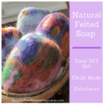 Natural Felted Soap  -Easy DIY Gift