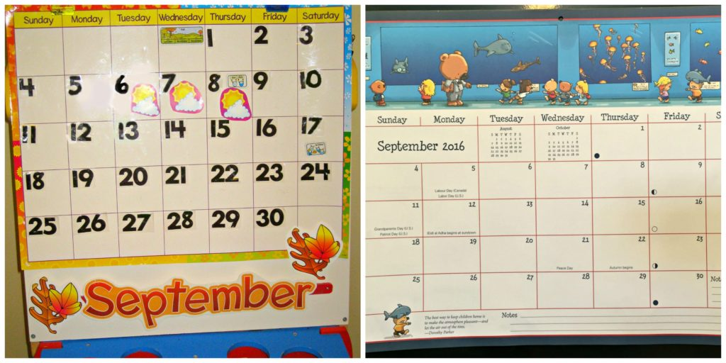 PicMonkey Collage calendar
