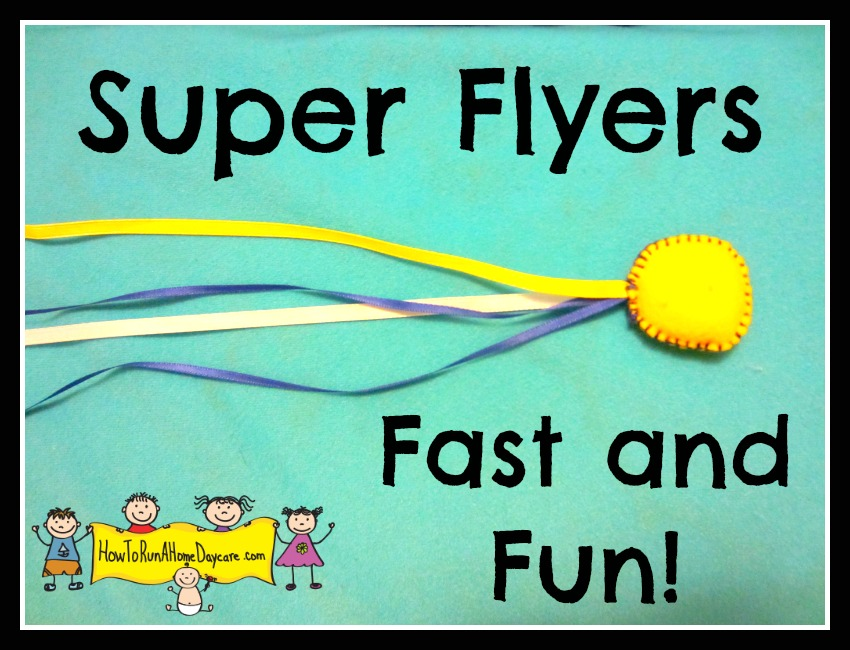 simple diy super flyer toy project for kids