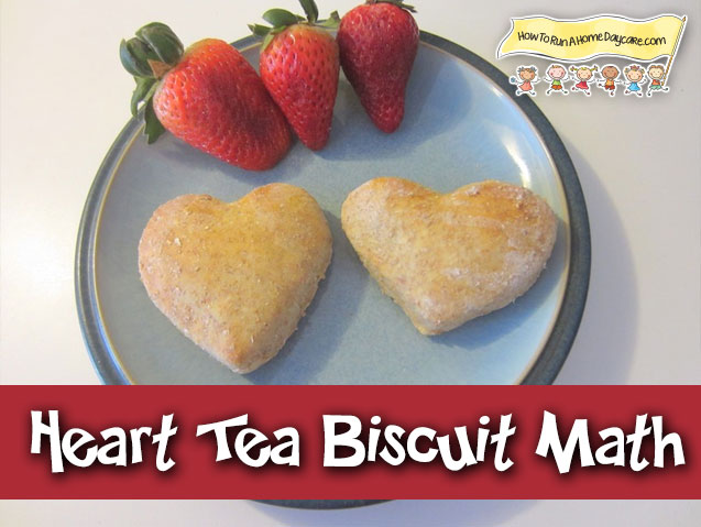 Heart Shaped Biscuits For Valentine S Day