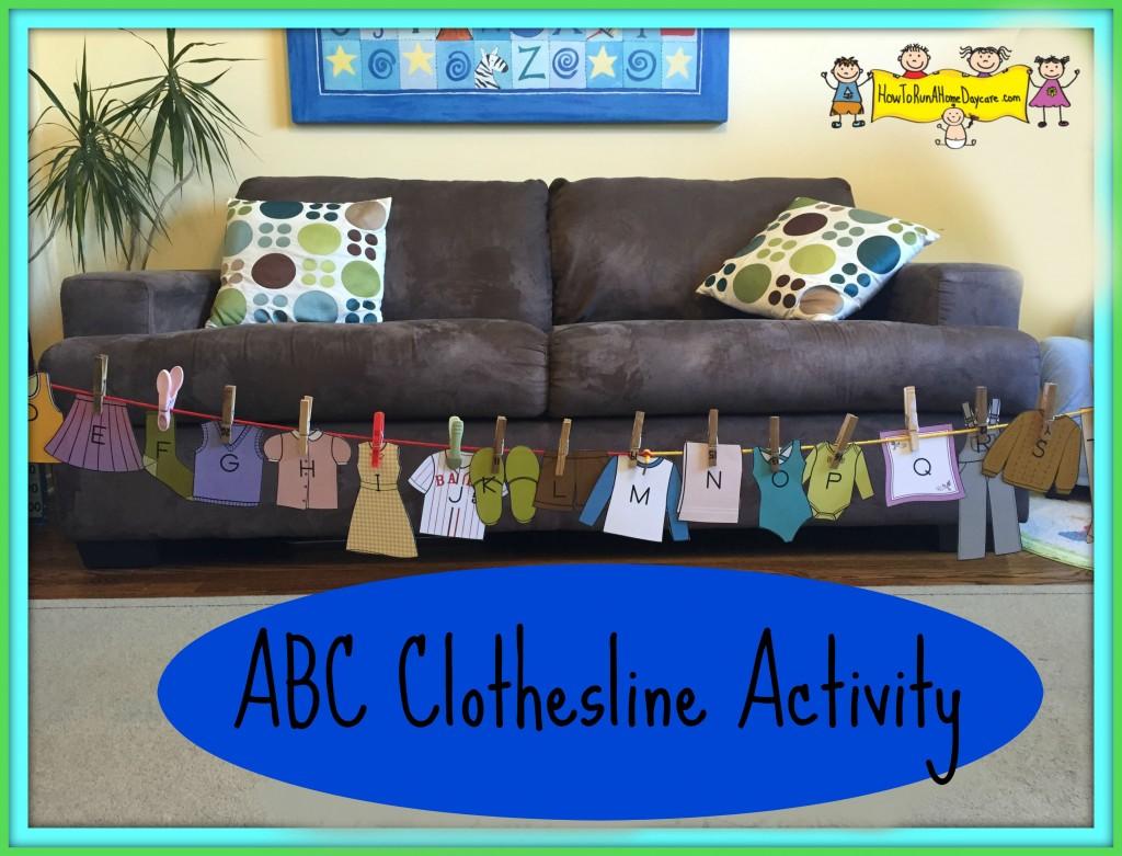 abc clothesline activity