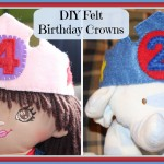 DIY Felt Birthday Crowns