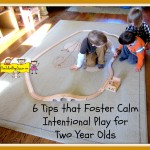 calm two year old play