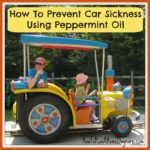 How To Prevent Car Sickness Using Peppermint Essential Oil