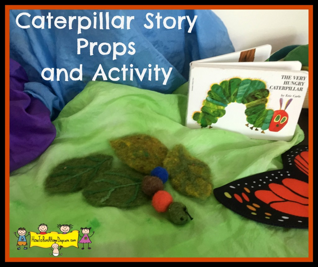 caterpillar story props