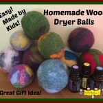 Homemade Wool Dryer Balls (Natural Alternative to Dryer Sheets)