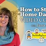 It's Live!!!  My How to Start A Home Daycare Video Course has been Launched!