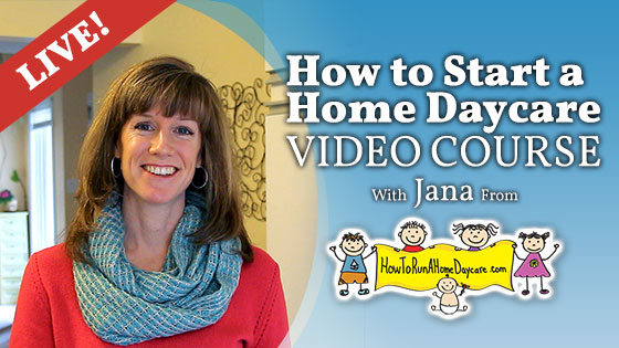 How to run a home daycare video course - live
