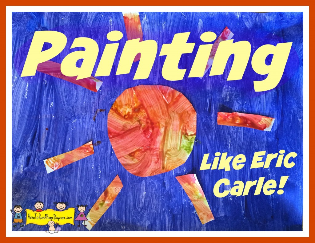 eric carle painting