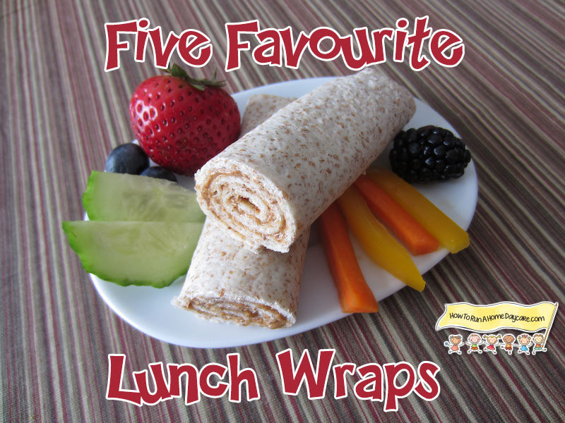 Five Favourite Lunch Wraps