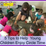 five tips to help circle time