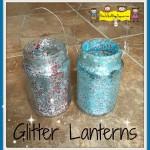Glitter Lanterns