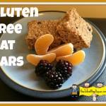 Gluten Free Oat Bars (nut free option as well)