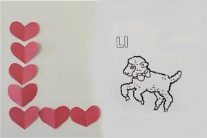 heart letters