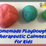 Homemade Playdough = Therapeutic Calmness for Kids