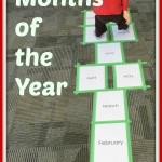 Hopscotch- Months of the Year