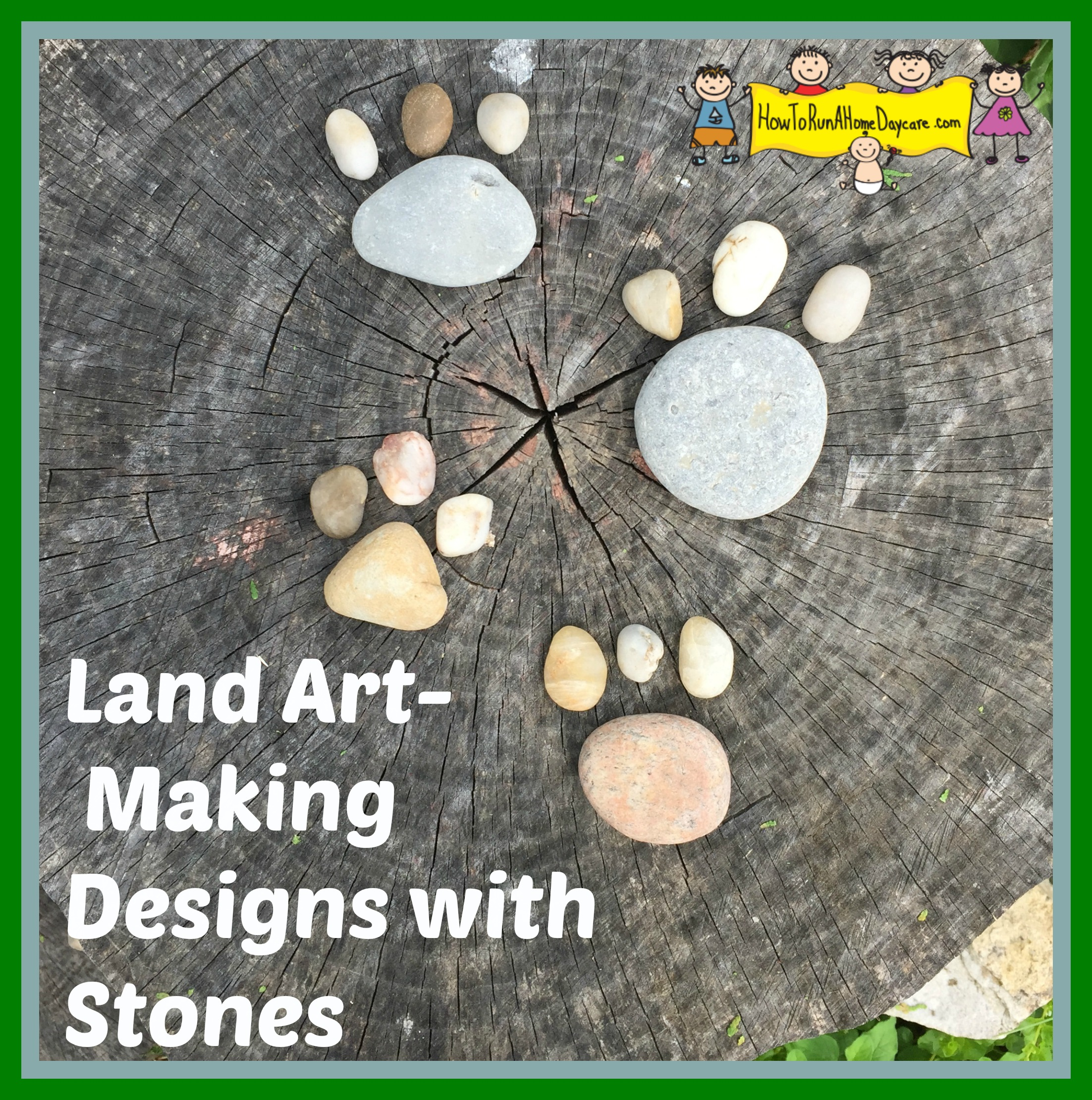 Making Designs With Stones
