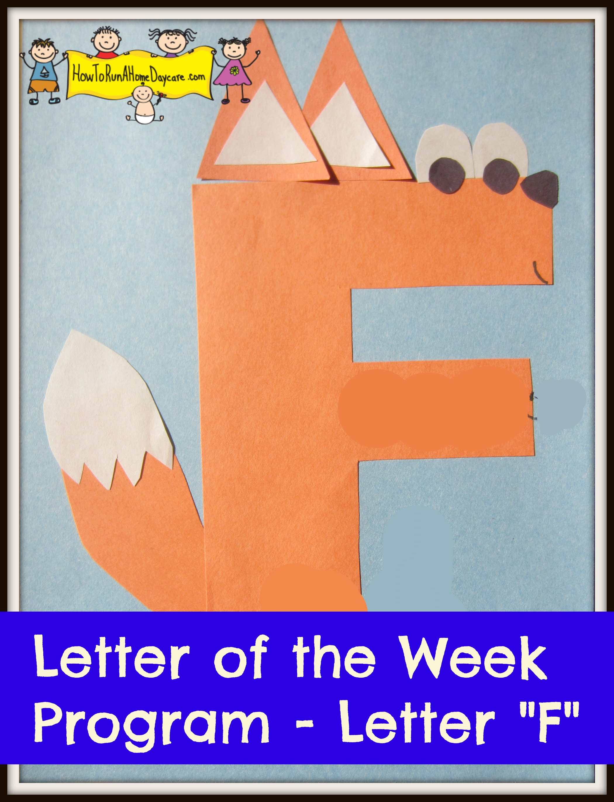 Letter F Letter Of The Week Program on Science Crafts For Preschoolers