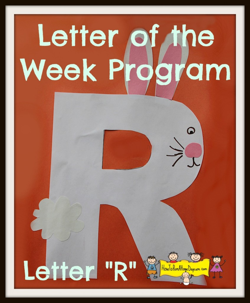 welcome to letter r week everyone there are so many words that begin with the letter r you will have no trouble finding lots of great examples to