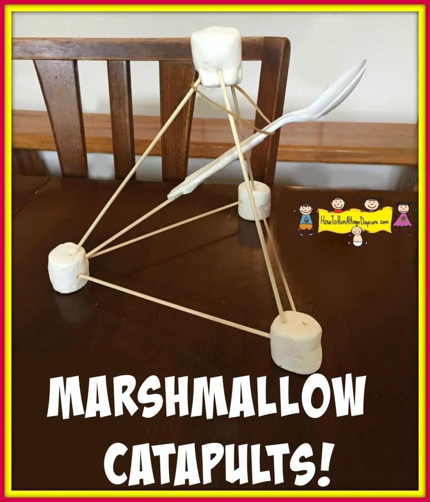 marshmallow catapults