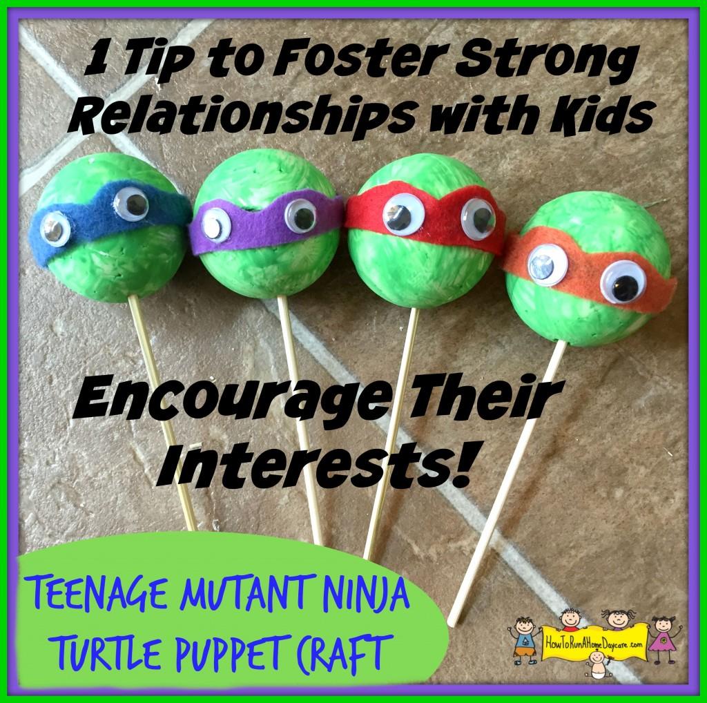 ninja turtle puppets