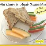 Nut Butter & Apple Sandwiches
