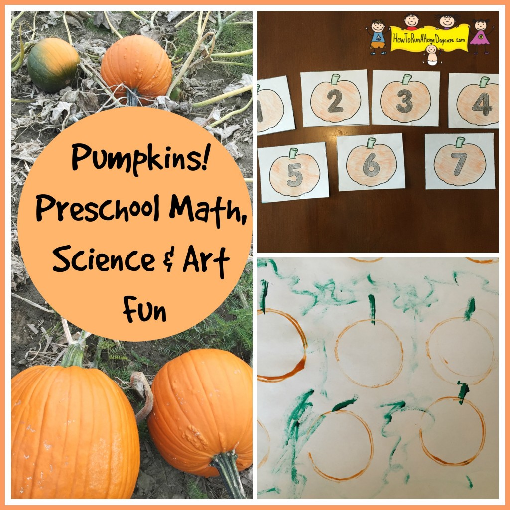 pumpkins preschool math fun