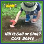 sail or sink cork boats