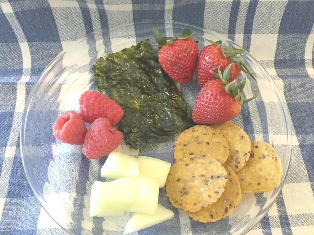 seaweed plate