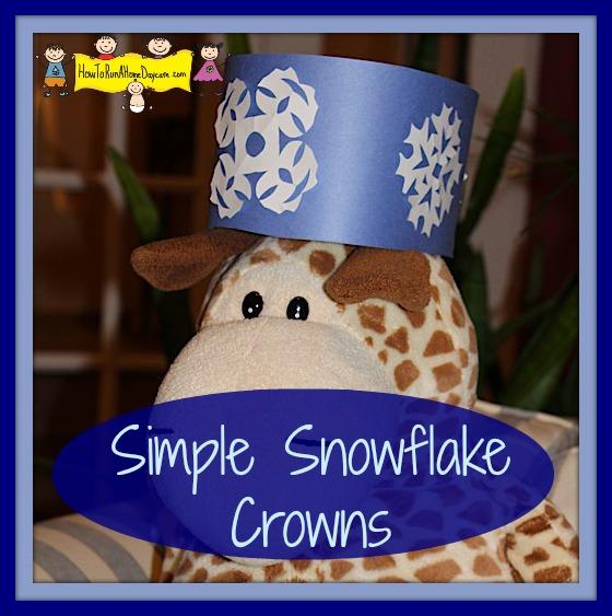 snowflake crowns