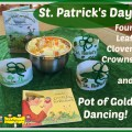 st. Pat's day crowns