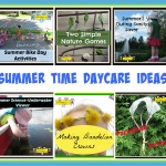 summer time daycare ideas