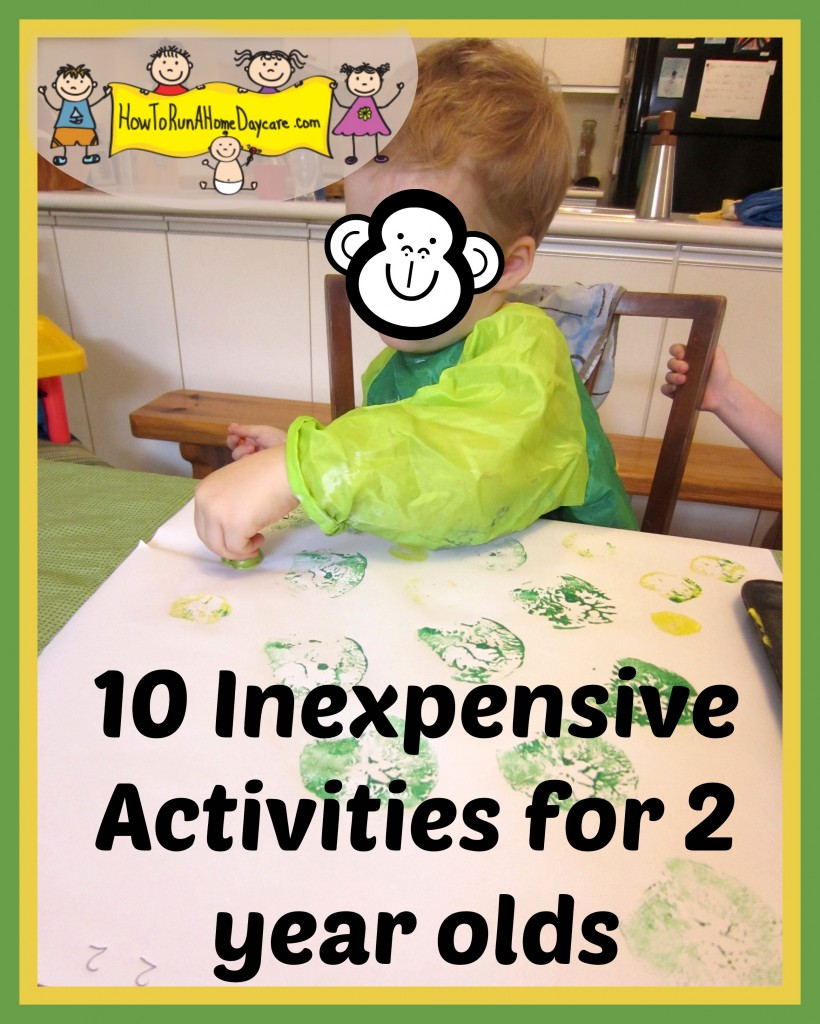 two year old activities