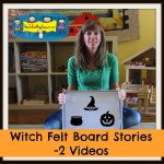 Witch Felt Board Stories -2 Videos